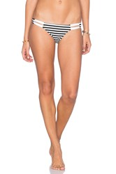 Vitamin A Neutra Hipster Bikini Bottom Black And White