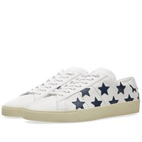 Saint Laurent Star Sneaker White