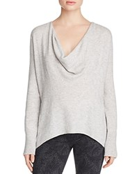 Joie Talin Cowl Neck Sweater Light Heather Grey