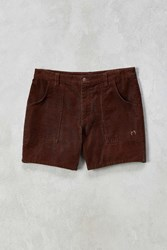 Hang Ten X Uo Venice Porkchop Pocket Corduroy Short Brown