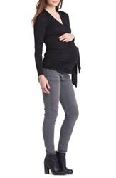 Lilac Clothing Women's Bella Faux Wrap Maternity Nursing Top