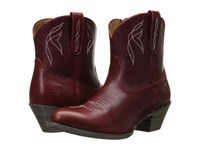 Ariat Darlin Rosy Red Cowboy Boots