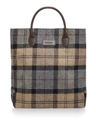 Barbour Winter Tartan North West Tote Bag Multi Coloured Multi Coloured
