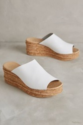 Anthropologie Andre Assous Bernice Wedges White 41 Euro Wedges