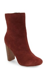Sole Society Women's Veronica Bootie Bordeaux Suede
