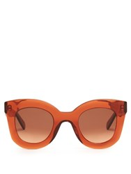 Celine Sunglasses Baby Marta Acetate Sunglasses Orange