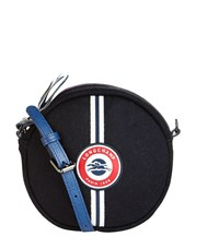 Longchamp Le Pliage Cocarde Cross Body Bag Female Navy