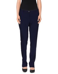 Isabel Benenato Trousers Casual Trousers Women Dark Blue