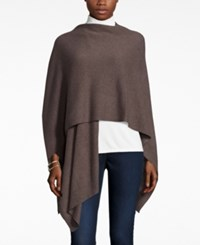 Charter Club Cashmere Wrap Cardigan Only At Macy's Heather Mocha