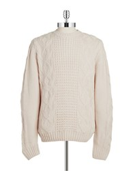 Weatherproof Knit Sweater Beige