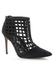 Daniel Rayne High Heel Cage Sandals Black