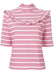 Fleamadonna Striped T Shirt Red
