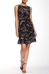 Zac Posen Gaby Silk Dress Black