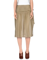 Tonello Skirts Knee Length Skirts Women Sand