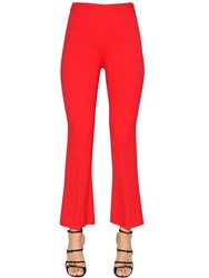 Giambattista Valli Crepe Cropped Pants