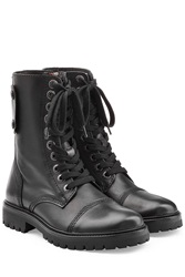 Zadig And Voltaire Leather Boots Black