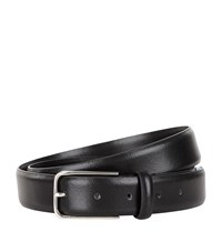 Sandro Slim Leather Belt Unisex