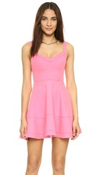 Elizabeth And James Pecini Dress Flamingo