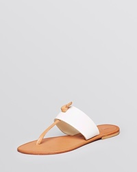 Joie A La Plage Thong Sandals Nice White Natural