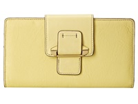 Kooba Jonnie Tab Wallet Lemon Yellow Wallet Handbags