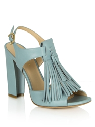 Daniel Sandy Springs Tassle Front Sandals Blue
