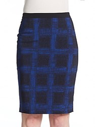 Hugo Boss Vikani Skirt Black Blue
