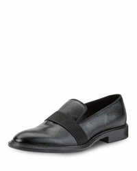 Givenchy Patent Grained Leather Dress Loafer Black