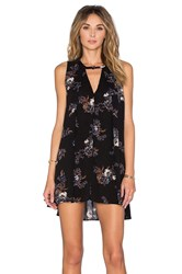 Free People Tree Swing Dress Black
