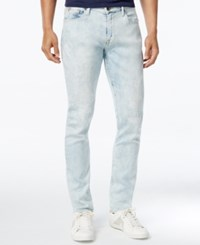 Guess Men's Slim Fit Tapered Jeans Sand Dune Wash
