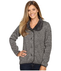 Columbia Darling Days Bonded Fleece Coal Heather Women's Coat Black