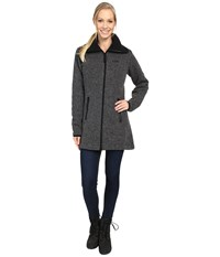 Jack Wolfskin Solitary Morning Coat Black Women's Coat