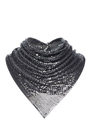 Paco Rabanne Chainmail Neck Scarf Black