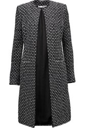 Oscar De La Renta Boucle Tweed Jacket Black