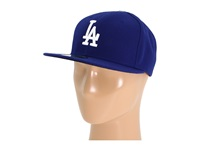 New Era Authentic Collection 59Fifty Los Angeles Dodgers Home Road Baseball Caps Navy
