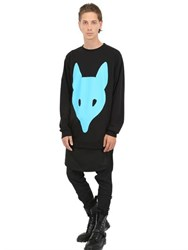 Long Clothing Limit.Ed Fox Printed Cotton Sweatshirt