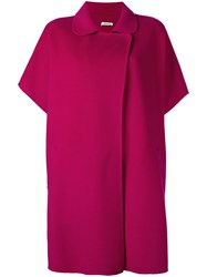 P.A.R.O.S.H. Shortsleeved Coat Pink And Purple