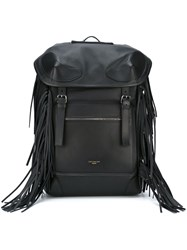Givenchy 'Rider' Fringed Backpack Black