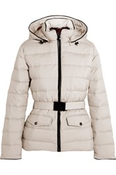 Pyrenex Divine Quilted Shell Down Jacket Off White