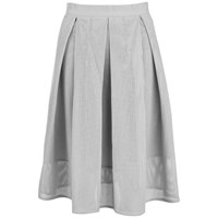 Great Plains Women's Square Route Pu Skirt Grey