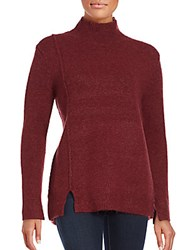 French Connection Autumn Mock Neck Sweater Charcoal