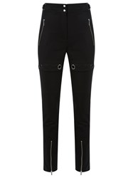 Reinaldo Lourenco High Waisted Trousers Black