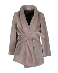 Tonello Coats And Jackets Faux Furs Women