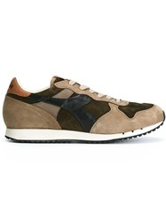 Diadora Tonal Lace Up Sneakers Brown