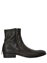 Shoto 30Mm Brushed Leather Ankle Boots