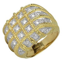 Torrini Wallstreet 18K Yellow Gold Diamond Ring
