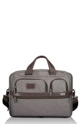 Tumi Men's 'Alpha 2' T Pass Coated Canvas Briefcase