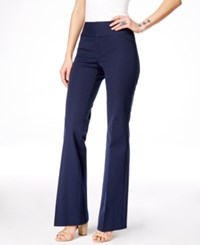 Inc International Concepts Petite Flare Leg Trousers Only At Macy's Deep Twilight
