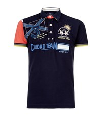 La Martina Ciudad Team Polo Shirt Male
