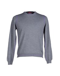 Altea Knitwear Jumpers Men Grey