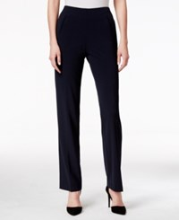 Styleandco. Style Co. Tummy Control Pull On Pants Navy